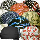 Black Motorcycle Dirt Biker Sale Hat Do Track Bandana Doo Rag Du Head Skull Cap