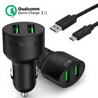 tronsmart s802 - USB Fast Car Charger Quick Charge 3.0 Tronsmart +Type-C Cable Qualcomm Certified