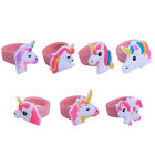 5pcs Women Unicorn Ring Silicone Children Cartoon Finger Ring Party Favors Gifts