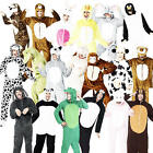 Animal Adult Fancy Dress World Book Day Characters Mens Ladies Costume Jumpsuits