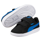 Puma Smash Fun CV V Kids Black Nubuck Trainers Size UK 10 - 2.5