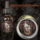 Devil's Mark Urisk Beard Balm Beard Oil Triple Six Artistry Butterscotch Brownie
