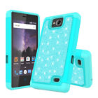 For ZTE Majesty Pro / Tempo Cover [ Screen Protector ] Slim Luxury Glitter Case