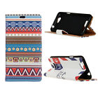 Smart Case Leather magnet Cover Pattern Wallet Pouch for Wiko Mobile Phone 05