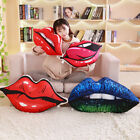 Red Lip Shaped Plush Pillow Valentines Day Gifts Love Decorations Home Office