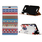 Smart Case Leather magnet Cover Pattern Wallet Pouch for Sony Xperia Phone  5B