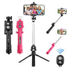 New Extendable Selfie Stick Tripod Remote Bluetooth Shutter For iPhone X 8 Plus