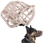 Adjustable Dog Safety Muzzle Biting Barking Chewing All Sizes Basket style