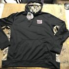 You are buying a NFL New York Giants  Sweatshirt Black/Camouflage Hoodie  New