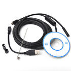 2M/5M 6LED 7mm Endoscope USB Waterproof Borescope Inspection Camera F Android PC