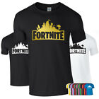 PERSONALISED FORTNITE battle Tshirt Tee Gamertag Xbox Playstation PS4 PC Gamers