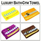 Large 100% Combed Cotton Beach Towel Bath Sheet Sports Gym Camping Luxury Towels