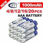US 4-20X BTY AA / AAA Rechargeable Battery Recharge Batteries 1.2V 3000mAh Ni-MH