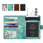 Внешний вид - Premium Vegan Leather Travel Passport Holder Case RFID Blocking Cover Cards Bag