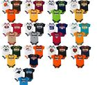 NFL Infant Boy's Playmaker Bodysuit 3-Pack Set Newborn Baby Football NEW on eBay