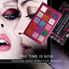 15 colors AU Glitter pressed Eyeshadow Palettes Rainbow cosmetics pressed shadow