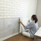 3D Brick Waterproof Wall Sticker Self Adhesive Panel Sticker DIY Wallpaper Decor