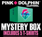 Pink Dolphin 5 Pack T-Shirt Set Blind Box Mens WaveLordz Legends Tees