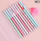 On Sales! 10pcs/lot Lovely Office School Accessories Pens 0.38mm Pen Colorful