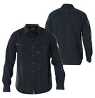 AFFLICTION Mens Embroidered Button Down Shirt POWER OF BLUE Biker BKE Roar $88
