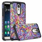 LG Fortune 2 Slim Hybrid Hard Case Shockproof Phone Cover Phone Case Cricket