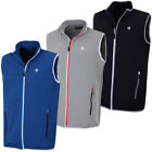 Island Green Mens Zip Thru Water Repellent Golf Gilet 55% OFF RRP