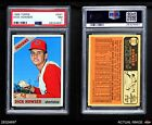 1966 Topps #567 Dick Howser Indians PSA 7 - NM
