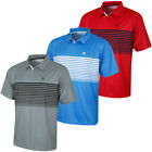 Island Green Mens 2018 IGTS1774 Coolpass Quick Dry Golf Polo Shirt 32% OFF RRP