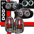 1998-2003 Dodge Durango SLT R/T CCFL Halo Headlights & Tail Lights