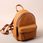 Women's Real Leather Backpack Rucksack Small Mini Daypack Cute bag Travel New Y1