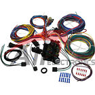 New 21 Circuit Wiring Harness Kit for ALL Hot Rods Classics 4x4 Custom Project