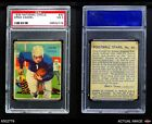 1935 National Chicle #30 Ernie Caddel  PSA 3 - VGFootball Cards - 215