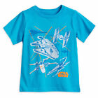 Disney Store Authentic Star Wars Starships T-Shirt for Boys T Shirt Size 10/12 $13.45 USD on eBay