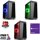 Mega Fast Amd Quad Core Radeon Hd 16gb 2tb Home Gaming Pc Computer Windows 10 Vt