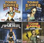 Tomb Raider Puzzle Solving Action Adventure Games PC Windows XP Vista 7 8 10 New