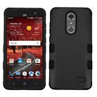 For ZTE ZMAX One Z719DL IMPACT TUFF HYBRID Protector Case Skin Phone Cover