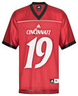 NCAA College Football Trikot Jersey University CINCINNATI BEARCATS Nr 19 rot