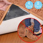 4x 8x rug carpet mat grippers non slip anti skid washable reusable grips pads