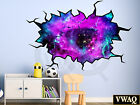 Space Wall Decal Nebula Sticker Hole In The Wall Decal Wall Crack VWAQ WC2