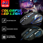 high dpi wired wireless rechargeable usb optical ergonomic gaming mouse pc mac