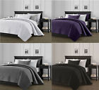 3-Piece Solid Bedspread Coverlet Pillow Case Set at Linen Plus image