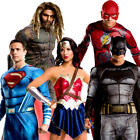 Justice League Adults Fancy Dress DC Comic Con Book Day Superhero Costumes New