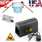 Electronic Mouse Trap Victor Control Rat Killer Pest Electric Zapper Rodent