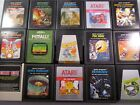 Atari 2600 Games - Clean & Tested - Great Popular Titles - Buy More & Save $$$