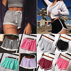 Women Summer Casual Running Sports Shorts Yoga Gym Jogging Waistband Short Pants