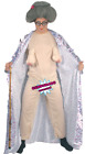 Mens Naughty Flashing Granny Stag Do Comedy Fancy Dress Costume Outfit M & L