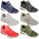 Ladies Trainers Womens Slip On Active Gym Running Mesh Lightweight Casual Shoes
