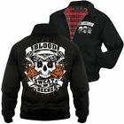 Harrington Jacke La Familia Blood Sweat & Beers Hardcore Loca Tattoo Totenkopf
