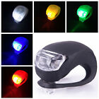 Silicone Bike Bicycle Cycling Head Front Rear Wheel LED Flash Light Lamp 02