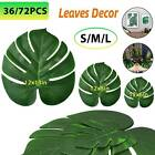 36/72X Fake Artificial Ivy Leaf Palm Plants Hanging Garland Home Home Room Decor